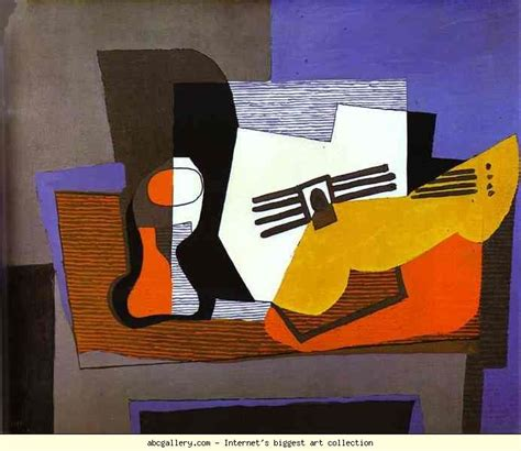 pablo picasso paintings guitar pablo picasso still with guitar