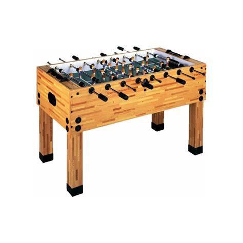 premiership youth table imperial butcher block foosball table