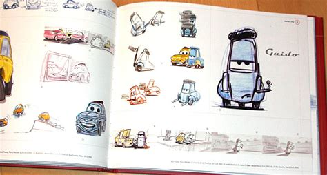 Disney Cars Bookcase The Art Of Pixar42concepts Amazing Design From Amazing