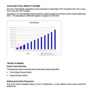 monthly business report template sle business report 6 documents in pdf psd
