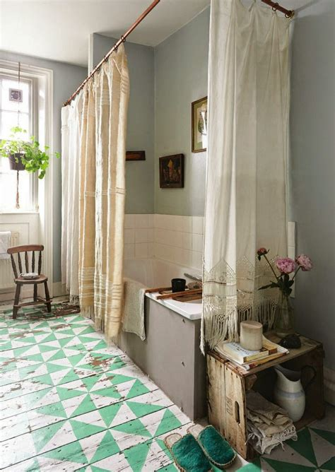 Bohemian Style Bathroom by Moon To Moon Blissful Bathrooms