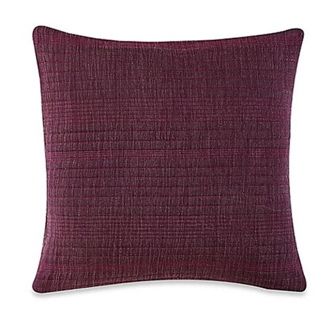 square bed pillows buy anthology kylie square throw pillow in purple from