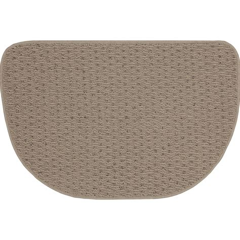 Corner Runner Rug Corner Kitchen Rug Berber Corner Runner Textured Kitchen Rug With Non Skid Backing 68 Quot X