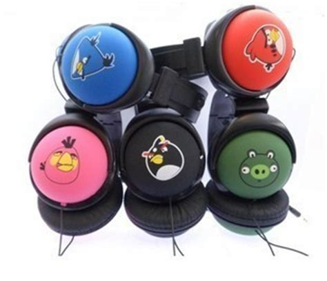 Headset Earphone Headphone Angry Bird An 40 angry birds stereo ear headphone your one stop shop for electronics products