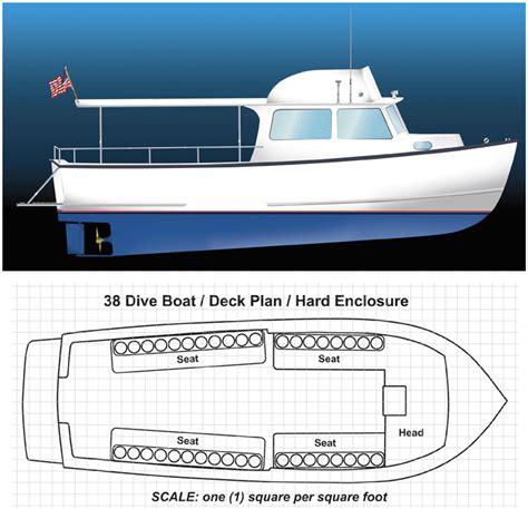 boat building gif exle design 38 foot dive boat