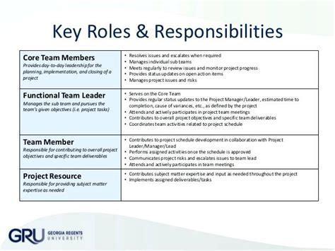 project management roles and responsibilities template it roles and responsibilities template ideal vistalist co