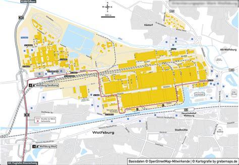 Audi Werk Ingolstadt Plan by Portfolio 187 Neue Kartenbeispiele Anfahrtsskizze