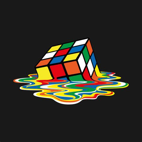 Block L Appears To Be A Melting Cube by Sheldon Cooper Melting Rubik S Cube Rubik Cube T