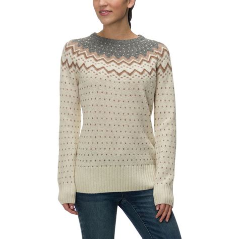womens knit sweaters fjallraven ovik knit sweater s backcountry