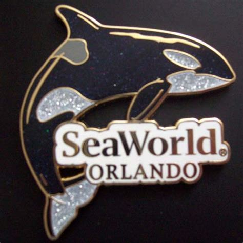 Your WDW Store   Sea World Pin   Shamu the Killer Whale