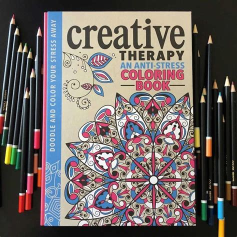 anti stress colouring book for adults brain science anti stress coloring book offers creative therapy for