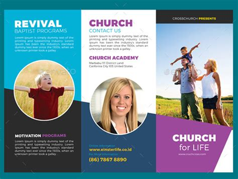 10 Popular Church Brochure Templates Design Free Psd Jpeg Eps Download Church Brochure Templates