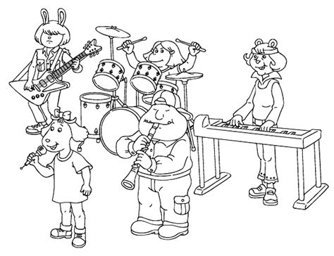 music coloring pages coloringpages1001 com