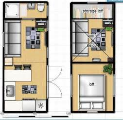 Home Design 8x16 by Floor Plan For 8 X 40 Shipping Container Home