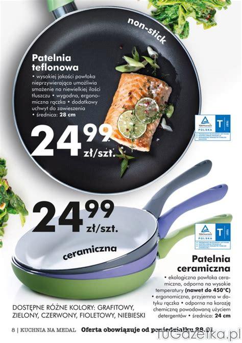 Maspion Teflon Wok 28 Promo patelnia teflonowa patelnia ceramiczna biedronka kuchnia