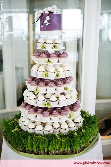 Hochzeitstorte Und Cupcakes by Wedding Cupcake Stands 187 Pink Cake Box Custom Cakes More