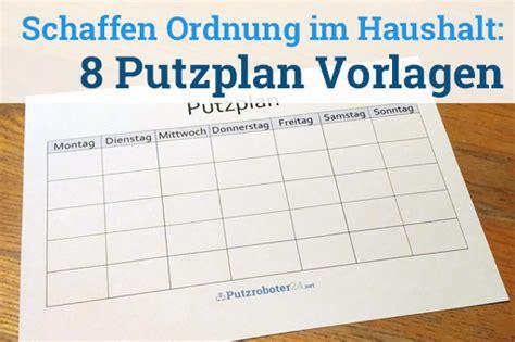 Haushaltsplan Vorlage Putzen by Putzplan Vorlage 8 Putzpl 228 Ne F 252 R Paare Wgs Singles