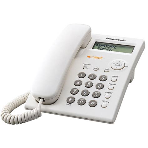 panasonic kx tsc11w white 1 line corded integrated telephone system walmart