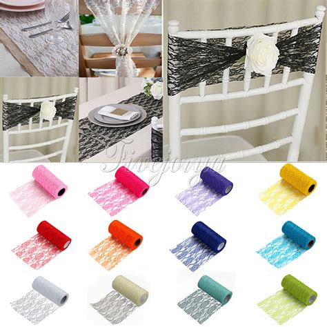 Diy Tutu Table Gorgeous Decorating by Tulle Roll Spool Lace Roll 6 Quot X10yards Diy Netting Fabric