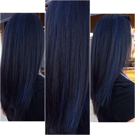 sapphire hair color sapphire blue black hair personal work