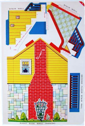 Papercraft Sale - best 25 paper doll house ideas on