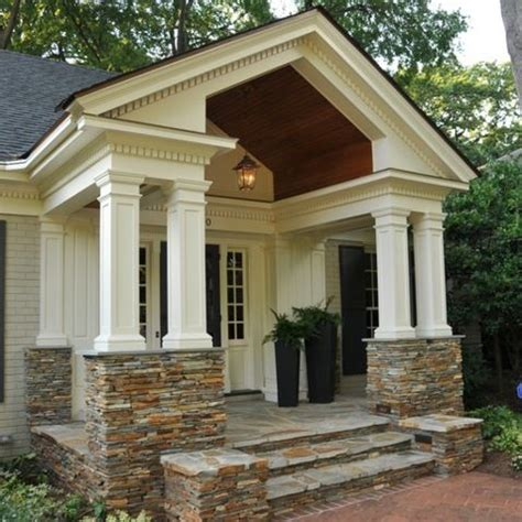 front porch gable roof design ideas pictures remodel