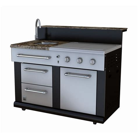 side burners for outdoor kitchens master forge 3 burner modular outdoor kitchen sink and