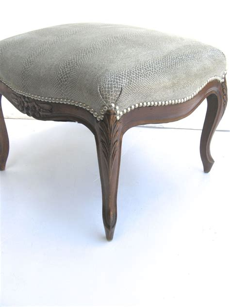 french style bench french louis xv style stool ottoman bench from blacktulip