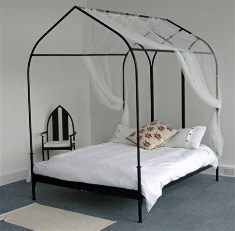 gothic canopy bed gothic furniture co uk gothic minimalist beds