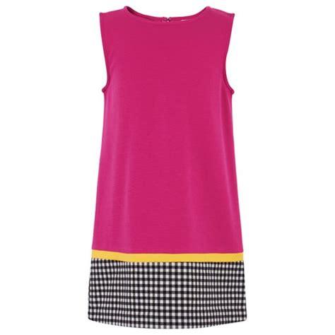 Kemeja Hem Click Pink perry pink sleeveless ginham hem dress alexandalexa