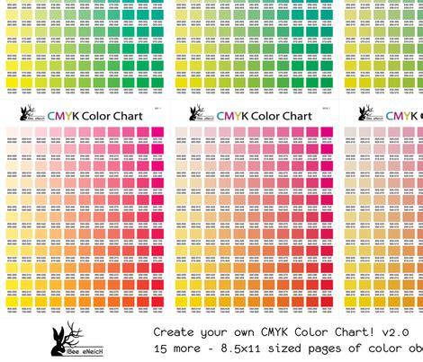 cmyk color chart cmyk color chart part 2 0 1815 more colors fabric