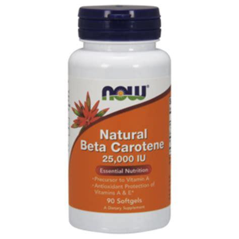 Beta Carotene Detox by Beta Carotene 25 000u I Now Foods