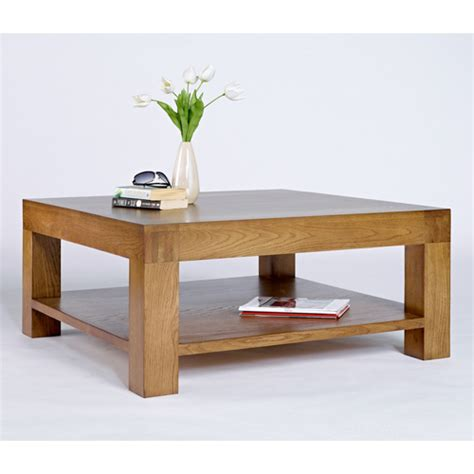 chunky square coffee table nevada square chunky wooden coffee table buy coffee