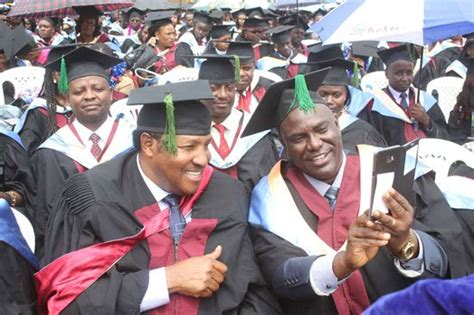 Mba In Kenya by Waititu How I Managed To Graduate With An Mba Nairobi News