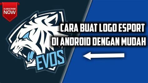 membuat logo squad game cara membuat logo e sport untuk squad ml aov vg youtube