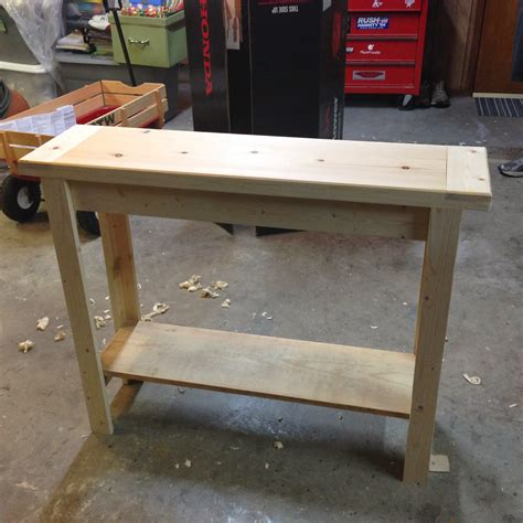 diy entry table jesse coulter