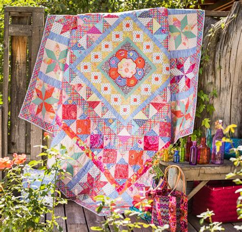 Kaffe Fassett Patchwork Kits - rowan kaffe fassett collective imari plate quilt kit on