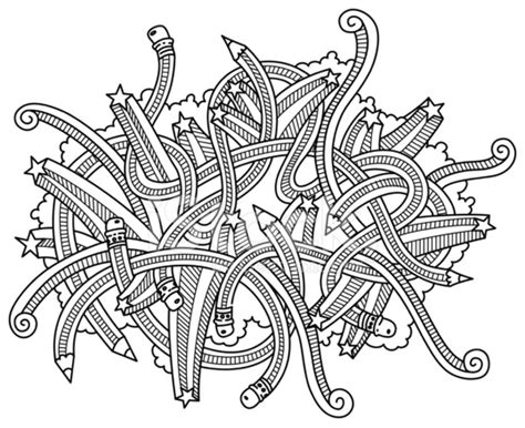 doodle pensil pencil doodles stock photos freeimages