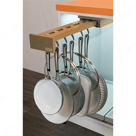 Pot Rack Mounting Hardware pot racks with blum slides richelieu hardware