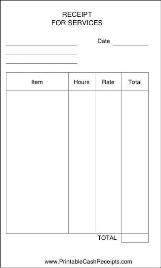 simple receipt      business freelancer