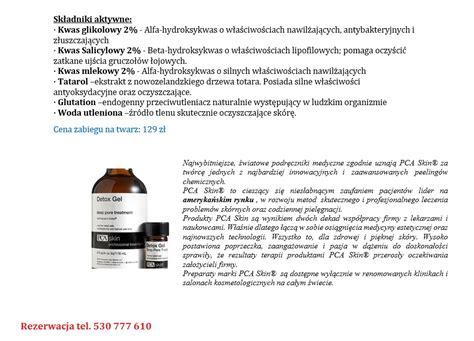 Detox And Ultra Pca Skin by Pca Skin Detox Gel Premium
