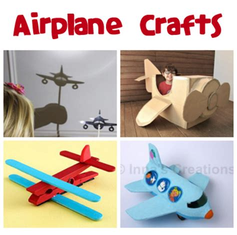 airplane craft projects airplane crafts for family crafts