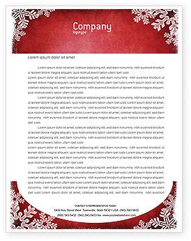 Christmas Theme Letterhead Template Layout For Microsoft Word Adobe Illustrator And Other Themed Word Template
