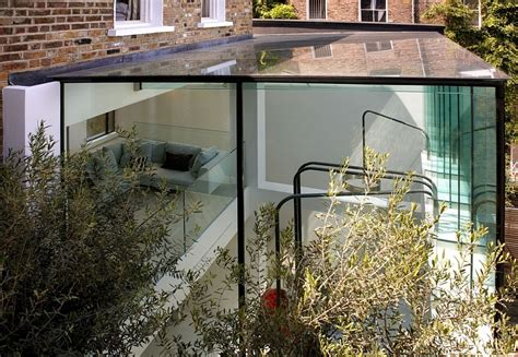 glass box house classic house in gets a grand and glassy extension