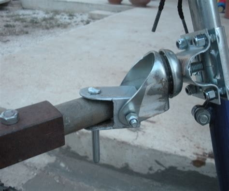 bike trailer hitch diy bike trailer hitch 3 steps