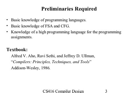 compiler design ullman free ebook download download principles compiler design alfred v aho jeffrey d