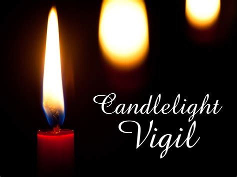 Candle Light Vigil by Candlelight Vigil December 12 2015 Plymouth Church