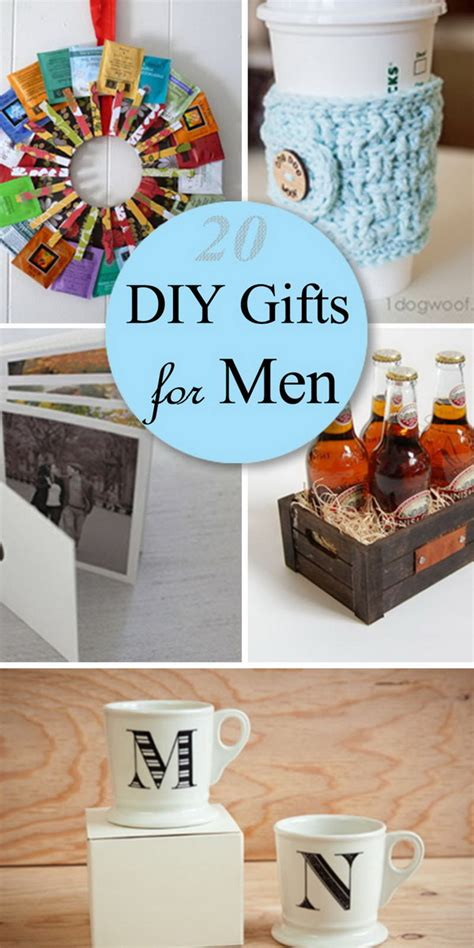 Cool Handmade Gifts For Guys - 20 diy gifts for hative