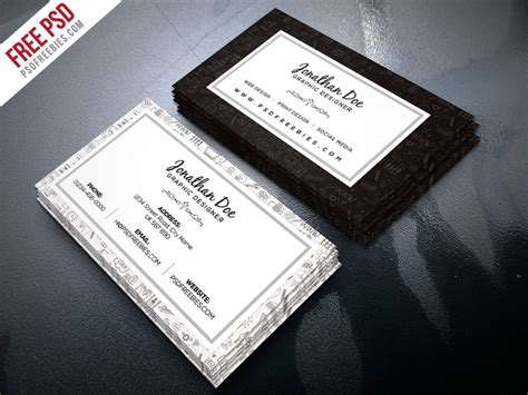 freelance business card template free psd freelance designer business card template psd