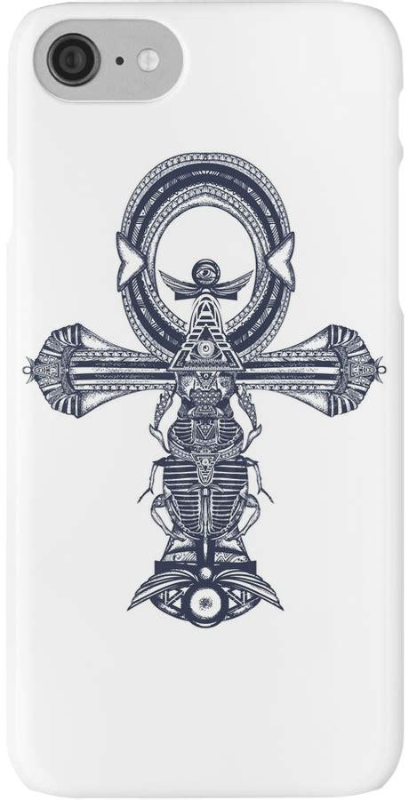 egyptian key of life tattoo designs ankh iphone by intueri in print